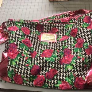 Betsy Johnson overnight bag